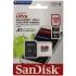 Paměťová karta Sandisk Micro SDXC Ultra Android 128GB UHS-I U1 (100R/10W) + adapter černá