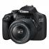 Digitální fotoaparát Canon EOS 2000D + 18-55 IS II + 50 f/1.8 STM černý
