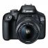 Digitální fotoaparát Canon EOS 4000D + 18-55 DC III + 75-300 DC černý
