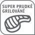Gril Tefal GC461B34 SuperGrill Timer XL černý/nerez