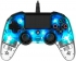 Gamepad Nacon Wired Compact Controller pro PS4 modrý/průhledný
