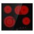 Sklokeramická varná deska Gorenje ECT643BCSC černá