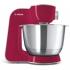 Kuchyňský robot Bosch CreationLine MUM58420 stříbrný/červený