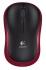 Myš Logitech Wireless Mouse M185 červená (/ optická / 2 tlačítka / 1000dpi)