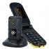Mobilní telefon myPhone Hammer Bow Plus Dual SIM černý/oranžový