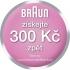 Epilátor Braun Silk-épil 5 5-5185 Legs bílý/červený