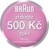 Epilátor Braun Silk-épil 7 7-561 + bikini bílý