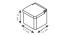 Dóza na potraviny Tescoma Online (900884) bílý