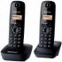 Domácí telefon Panasonic KX-TG1612FXH šedý