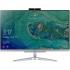 Počítač All In One Acer Aspire C22-865 stříbrný + dárek