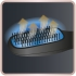 Vlasový kartáč Rowenta CF6220F0 bílá/růžová
