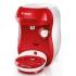 Espresso Bosch Tassimo Happy TAS1006 bílé/červené