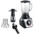 Stolní mixér Bosch SilentMixx Pro MMB66G7M černý/stříbrný