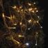 Spojovací řetěz EMOS 100 LED blikající, krápníky, 2,5m, teplá/studená bílá