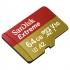 Paměťová karta Sandisk Micro SDXC Extreme 64GB, A2, UHS-I U3 (160R/60W) + adapter