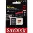 Paměťová karta Sandisk Micro SDXC Extreme 64GB UHS-I U3 (160R/60W) + adapter