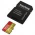 Paměťová karta Sandisk Micro SDXC Extreme 256GB UHS-I U3 (160R/90W) + adapter