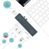 Dokovací stanice i-tec USB-C Metal pro Apple MacBook Pro + Power Delivery