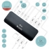 Dokovací stanice i-tec Thunderbolt 3 Dual 4K + USB-C na DisplayPort (1,5 m) + Power Adapter 180W