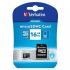 Paměťová karta Verbatim Premium micro SDHC 16GB Class 10 + adapter