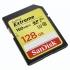 Paměťová karta Sandisk SDXC Extreme 128GB UHS-I U3 (150R/70W)