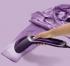 Parní napařovač oděvů Philips Steam&Go GC363/30 fialový