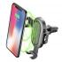 Držák na mobil CellularLine Handy Wing s bezdrátovou nabíječkou, do ventilace černý