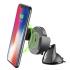 Držák na mobil CellularLine Pilot Active s bezdrátovou nabíječkou černý