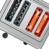 Opékač topinek Bosch TAT7S45 šedý/nerez