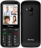 Mobilní telefon CPA Halo 18 Senior s nabíjecím stojánkem černý