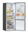 Chladnička s mrazničkou Candy CMNV 7184 DX nerez