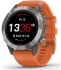 GPS hodinky Garmin fenix6 PRO Sapphire (MAP/Music) oranžové/titanium