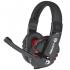 Klávesnice s myší Marvo CM370 + headset a podložka pod myš, CZ/SK černá