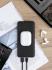 Powerbank Uniq HydeAir View 20000mAh, USB-C PD, bezdrátové nabíjení šedá