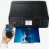 Tiskárna multifunkční Canon PIXMA TS5055 + papír černá
