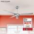 Ventilátor stropní ProfiCare PC-DVL 3071 nerez