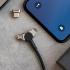 Kabel Forever Core 3v1 magnetický, USB/Micro USB, Lightning, USB-C, 1m černý
