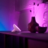 Stolní LED lampička Philips Hue Bloom, White and Color Ambiance bílá