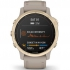 GPS hodinky Garmin fenix6S PRO Solar - Light Gold/Sand Band (MAP/Music)
