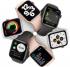 Chytré hodinky Apple Watch SE GPS 44mm pouzdro ze zlatého hliníku - pískově růžový sportovní náramek