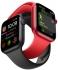 Chytré hodinky Apple Watch Series 6 GPS 44mm pouzdro z vesmírně šedého hliníku - černý sportovní náramek