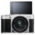 Digitální fotoaparát Fujifilm X-A5 + 15-45 mm stříbrný