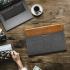 Pouzdro na notebook tomtoc Premium na 16'' MacBook Pro 2019 šedá