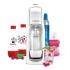 Výrobník sodové vody SodaStream Jet MegaPack Love Raspberry bílý