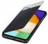 Pouzdro na mobil flipové Samsung S View Wallet Cover na Galaxy A52/A52 5G/A52s 5G černé