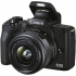Digitální fotoaparát Canon EOS M50 Mark II + EF-M 15-45 černý