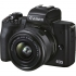 Digitální fotoaparát Canon EOS M50 Mark II + EF-M 15-45 + SB130 + 16GB černý