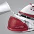 Žehlička Electrolux EDBS2300 bílá/červená