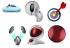 Myš Logitech TrackMan Marble stříbrná (/ optická / 3 tlačítka / 1000dpi)
