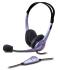 Headset Genius HS-04S černý/stříbrný